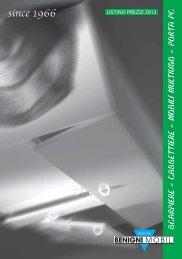 LISTINO SCARPIERE E COMPLEMENTI 2012.pdf - BENIGNI MOBILI
