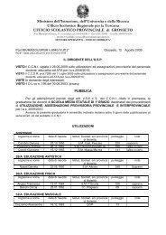 D.D.Usp di Gr.prot.8940 del 12/08/09 - Media 1° grado - Grosseto