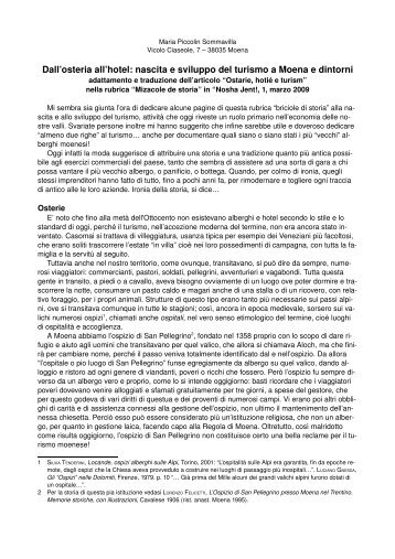Osterie a Moena.pdf - StoriaDiFiemme.it