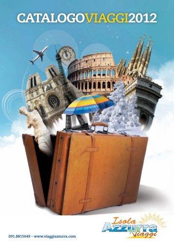 CATALOGOviaggi2012 - viaggi azzurra