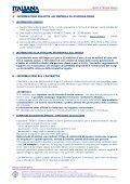 Infortuni Fascicolo Informativo Contratto di assicurazione per gli ... - Page 3