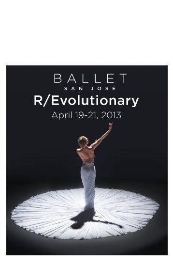 Playbill - Ballet San Jose
