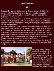 Don Juan Verdichio - Historia de Laguna Larga