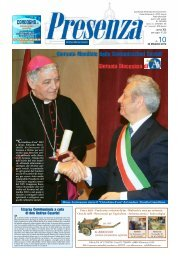 Presenza n. 10 del 20/5/2012 - Arcidiocesi di Ancona-Osimo