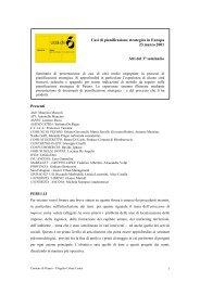 urban center 3° seduta - Pesaro 2015.Piano strategico.città della ...