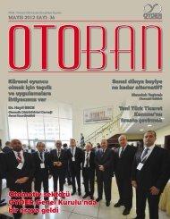 Sayı 36 Mayıs 2012 - OYDER