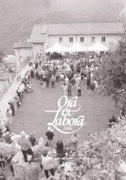 Ora et Labora 2006 - Monastero di Claro