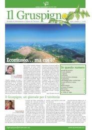 Il Gruspigno - Anno I numero 1 (scarica PDF) - Ecomuseo Colli del ...