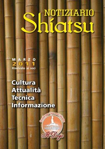 Notiziario Shiatsu 2011 - Il Dojo