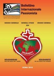 SOLIDARIDAD SOLIDARIETÀ - Passio Christi
