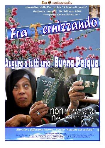 Anno II, numero 3 - Marzo 2009 - Parrocchia BMV di Loreto