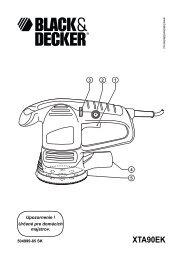 XTA90EK - Service - Black & Decker