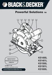 Powerful Solutions TM - Service - Black & Decker