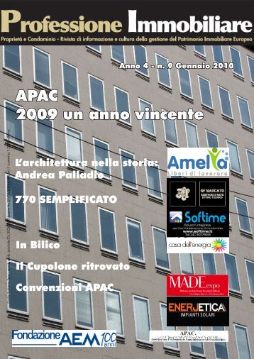 Scarica il numero completo (.pdf) - Professione Immobiliare