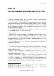 L'alto commissariato delle NU per i Rifugiati (pdf, it, 50 KB, 10