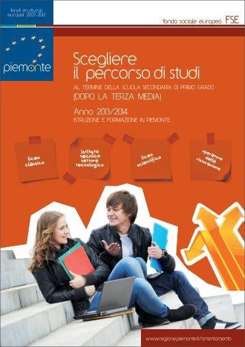 Guida post medie - Regione Piemonte