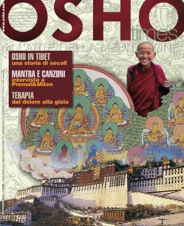 OSHO IN TIBET MANTRA E CANZONI TERAPIA - Oshoba