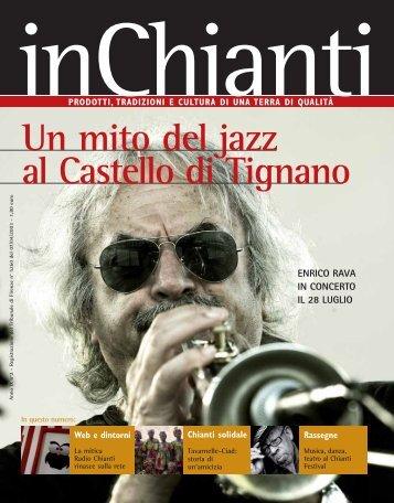 Un mito del jazz al Castello di Tignano - In Chianti