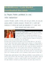 RadiciGroup - Lady Radici prophesied the crisis 12 ... - Polyestertime