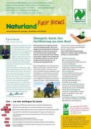 Fair News PDF  - Naturland