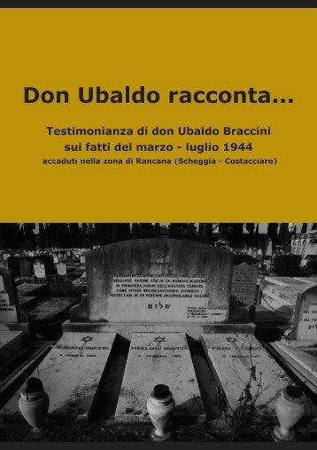 Don Ubaldo Braccini e Fabrizio Cece - Associazione Eugubini nel ...