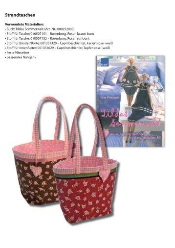 Strandtaschen - Westfalenstoffe