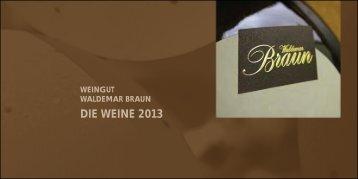 Bitte hier klicken - Weingut Waldemar Braun