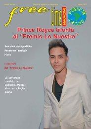 """Prince Royce trionfa al """"Premio Lo Nuestro"""" - freetimelatino.it"""