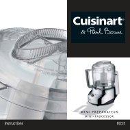 DLC3E IB - Cuisinart