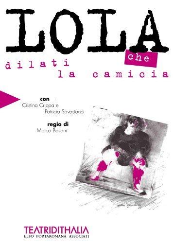 programma di sala 2004/2005 (2.3 MB pdf) - Teatro dell'Elfo
