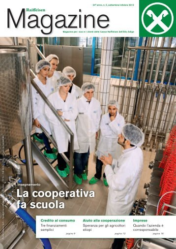La cooperativa fa scuola - Raiffeisen