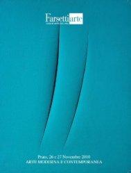 Scarica il catalogo in PDF - Casa d'aste Farsettiarte