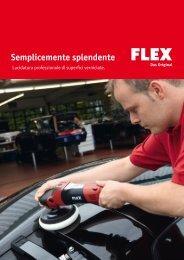Lucidatura professionale - FLEX