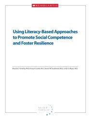 Using Literacy-Based Approaches to Promote ... - NYU Steinhardt