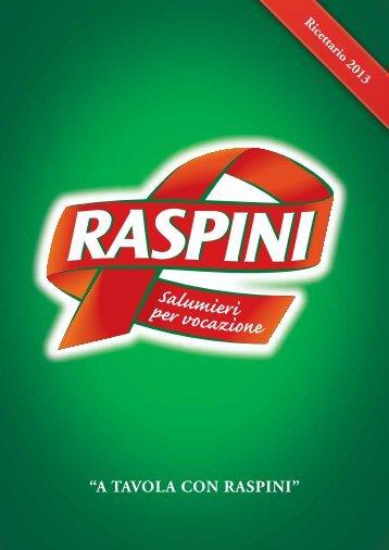 Tempo di lavorazione - Raspini