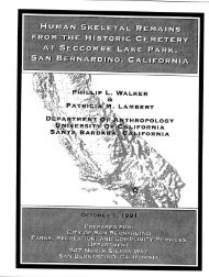 1991 Osteological Analysis of Human Burial from a Historic ...