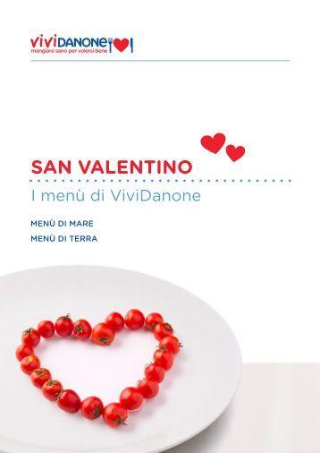 SAN VALENTINO - Mangiare sano per volersi bene