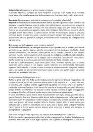 intervista Roberto Serragli - Ecomuseo Val di Merse