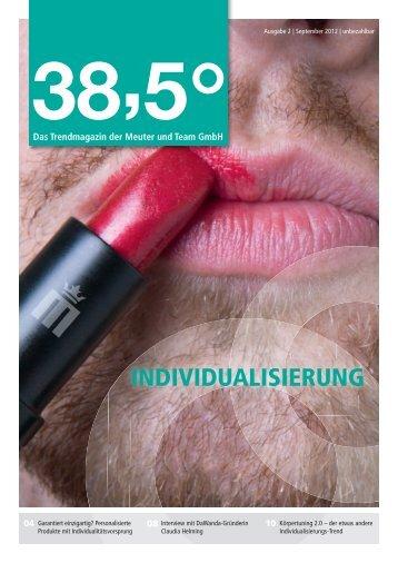 INDIVIDUALISIERUNG - Meuter und Team GmbH