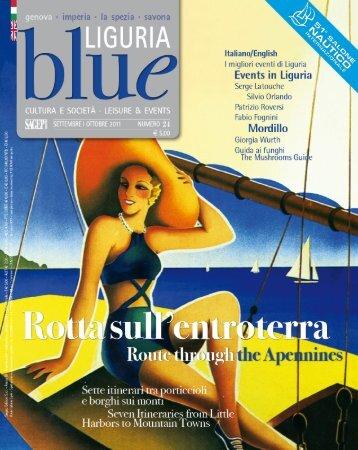 cover - Blue Liguria - Sagep