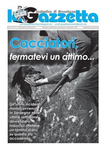 La Gazzetta Scolastica n. 4 - 2012 - istituto comprensivo arzachena 1