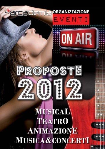 libretto proposte 2012.indd - Arcademia