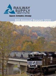 RSI Membership Directory - Railway Supply Institute