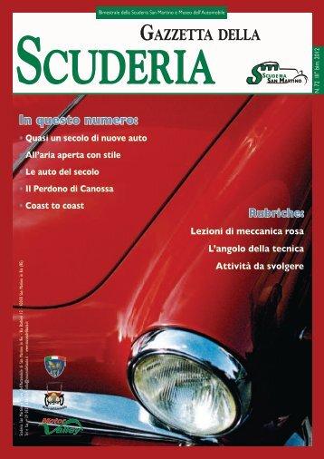 Gazzetta 72 - Museo dell'Automobile e Scuderia San Martino