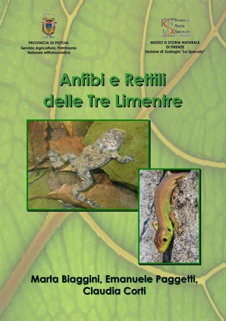 Anfibi e Rettili delle Tre Limentre - Provincia di Pistoia