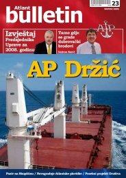 srpanj 2009. - Atlantska plovidba dd