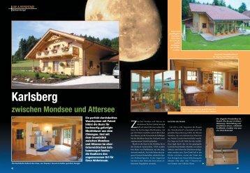 Artikel über ein neues Projekt der Firma Chiemgauer Holzhaus aus ...