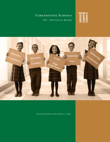 Annual Report - Cornerstone Schools