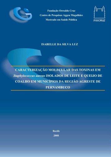 CARACTERIZAÇÃO MOLECULAR DAS TOXINAS EM ...
