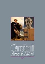 scarica il catalogo - Orsini Arte Libri